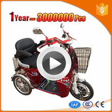 new energy 3 wheel motorcycle electric tricycle adults with CE certificate