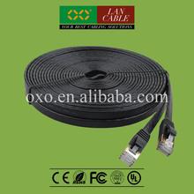 Pure Copper 4PR Strand Oxgen Free Copper Cat 7 Double Shielded RJ45 Plug Patch Cord Cable