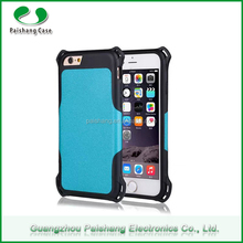 2015 Fashion Design Shinny Color TPU PC Mobile Phone Accessories for iPhone 6 Case, Waterproof Case for iPhone 6s