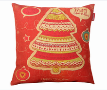 2015 Chinese factories supply alibaba sale well fashion popular soft christmas tree 100% cotton christmas home decorate pillow
