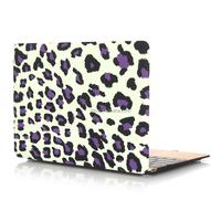 "Pattern Hard Shell Clip Snap-on Case for MacBook Pro 13"" - Fits Model A1278 (Purple Leopard)"