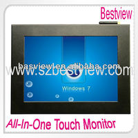 "Industrial metal shell 8""/10""/12""/ 15"" touch screen pc"