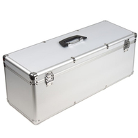 ALUMINUM Case BOX FOR TREX 450 RC HELICOPTERS Silver Flight Case