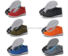 2015 hot sale flyknit chukka running shoes for men good quality sneakers size 36-45