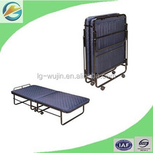 Folding Sofa Bed/Rollaway Single Bed/Metal Extra Bed with Mattress