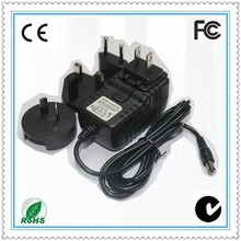High Efficiency 12V 2A 24W Adapter cctv with CE Certification