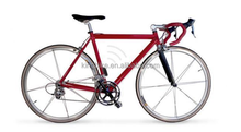700c full aluminum magnesium alloy front wheel fixed gear bicycle professional Manufacturer