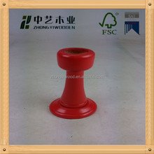 2014 High quality tall wooden candle holder