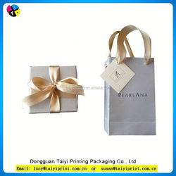 Customized printed jewelry paper bags