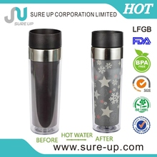 Comfortable pumping system pa&silica gel plastic drinking cup(MPUG)