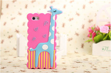 2014 new arrival silicone decorate fashion design cell phone case
