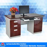 Luoyang GaoRui Factory Direct Sale Metal Office Desk Steel Computer Table