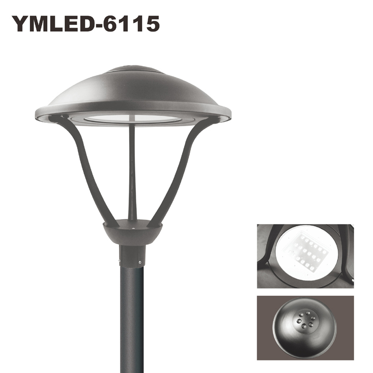 Led Light Fixtures Residential: Hot Sale Residential Led Light Source Decorative Post Top