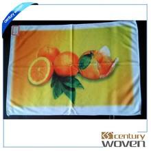 China Suppliers cheap microfiber fruit printed bulk kitchen/tea towels