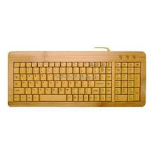 Fancy !!! Bamboo Frame keyboard with plastic keys