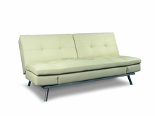 Home Space Saving Sofa Cum Bed Designs With White Leather