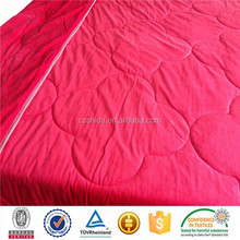 china supplier 100%polyester velboa quilt cover and bed sheet aplic work cotton sateen
