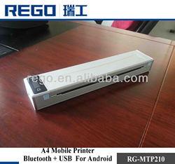 A4 size mini laptop dot matrix printer A4 paper printer from China