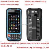 PL40 AK104 Rugged tablet pc android gsm mobile phone with Android SDK Support Java