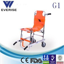 WSX-G1 aluminum medical light weight stair stretcher wheel chair high quality