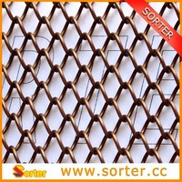 Fashion Design Wire Mesh Window Curtain With Customized Size