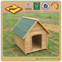 DXDH011 Wooden Dog Cages Kennels Promotion Pet Products Housing Design A-Frame Dog Door
