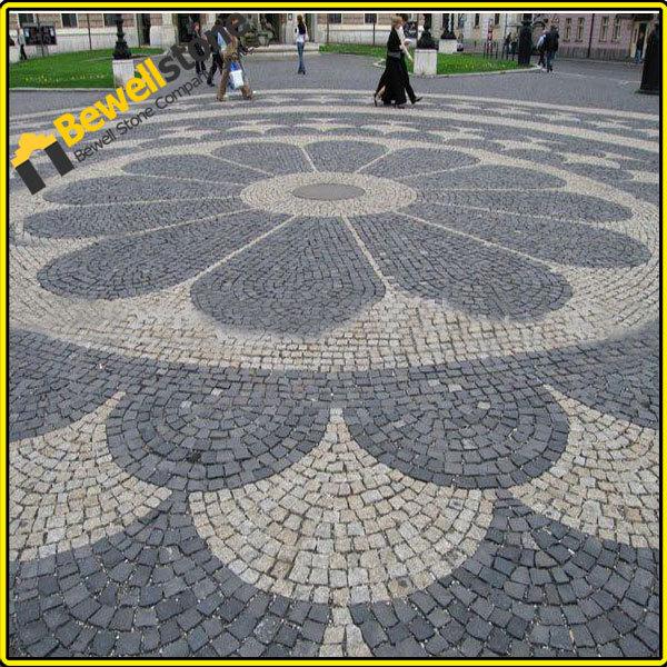Jardin paysage granit noir glow pav pav s id de produit 60268957996 french a - Comment poser pave granit ...