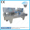 Automatic mineral water cup filler sealer can the connect conveyor belt packaging