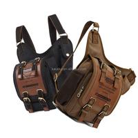 Hot Sales in Amazon Canvas Bags for Women Men Casual Bike Travel Sport Waist Bag