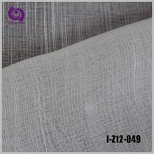 Textile Factory Sale Poly Stripe Jacquard Linen Voile Curtain Drapery Fabric