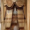 High-quality embroidered chenille Curtains