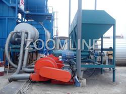Asphalt mixing plant Coal dust burner for dryer drum
