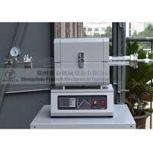 high vacuum heating tube furnace with 10-5 torr