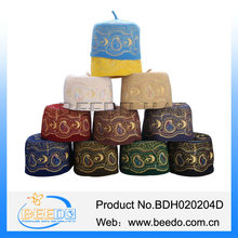 Beedo Musilm hat jewish hat with hole of five-pointed star from china manufacturer
