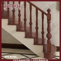 indoor wood/wooden stair railing designs diy