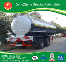 Hot sale chemical semi-trailer factory direct fuel tank 2 axles oil tanker for sale