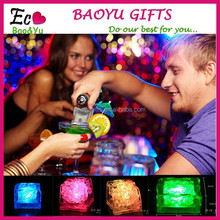 Glow Ice Cubes novelty party Sparkling Light Ice Without Switch