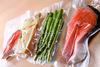 food/seafood/frozen food embossed vacuum storage bag