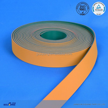 3.5mm thickness green and yellow evaluated nylon flat belt