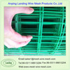 Welded Mesh Technique and PVC Coated Steel Wire Material 1/2 inch coated wire mesh