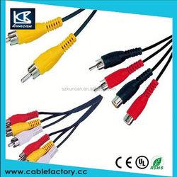 2015 SZ KUNCAN vga svga to s-video 3 rca tv av converter cable