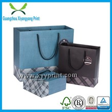 Fancy custom hard paper bags with handles wholesale for United State