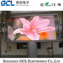 High brightness and well radiating DIP outdoor p10 led display