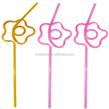 Factory supply low price art drinking straw wholesale, diy crazy straw, can do many shapes