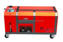 Portable water jet cutting machine, water jet cutting machine for petroleum pipeline