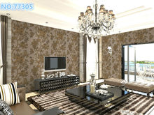 Modern design washable embossing vinyl wallpapers from china wallpaper manufacturer