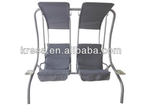 2-seat swing chair garden/High quality two seats garden patio swing/Two Seat Outdoor Furniture Garden White Hanging Swing Chair