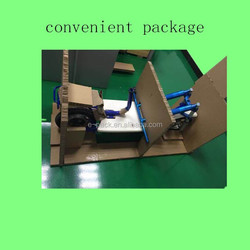 Disassembled paper cushion package for heavy electric vehicle