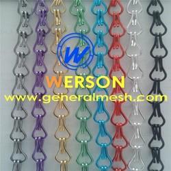 decorative metal chain door curtain for Door curtain, room divider, wall covering | generalmesh
