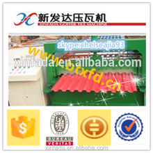 C10 metal tile roof roll forming machine